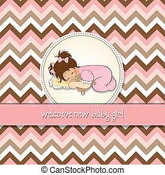 baby, card, brusebad