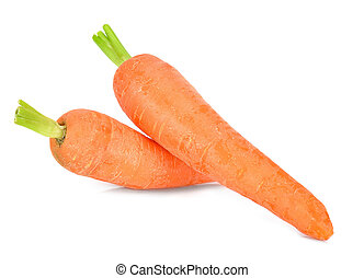 Baby Carrot isolated on the white background