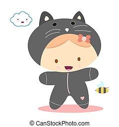 baby cat kawaii