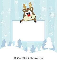 baby christmas card