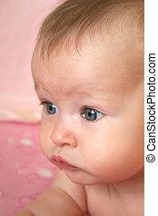 Baby Closeup of Face
