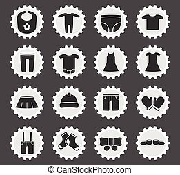 Silhouette Baby Shop Icons Silhouette Child Baby And Baby Online