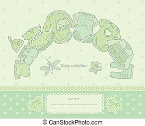 Baby collection green
