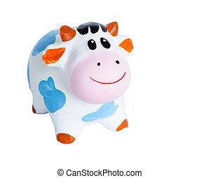 Baby Cow coin box