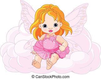 baby, cute, fairy