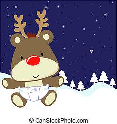 baby deer cartoon