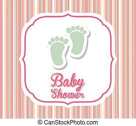 baby design  - baby graphic design , vector illustration