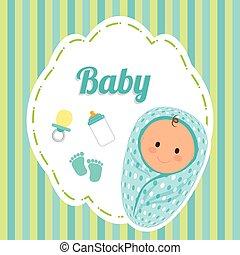Baby design, vector illustration.