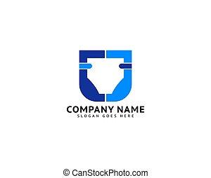 Baby Diaper Logo Template Design Vector
