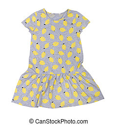 baby dress with a pattern