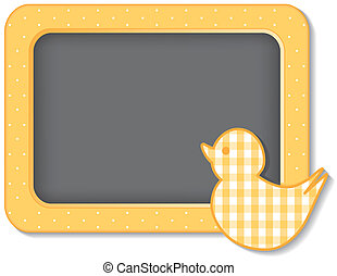 Baby Duck Nursery Frame - Baby duck nursery frame board,...
