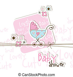baby duscha, kort
