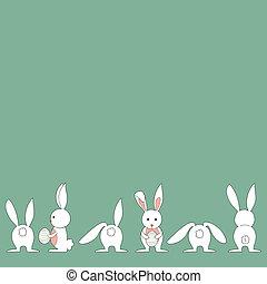 Baby Easter bunny set