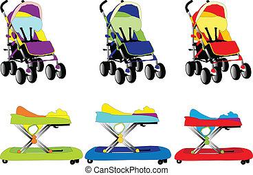 baby equipment 5 vector