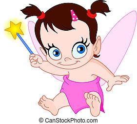 baby, fairy