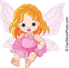 baby, fairy, cute