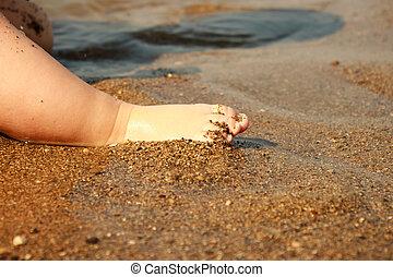 Baby Feet Beach
