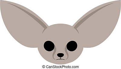 baby fennec face draw