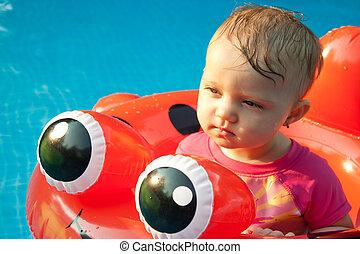 Baby Floatee Funny Look