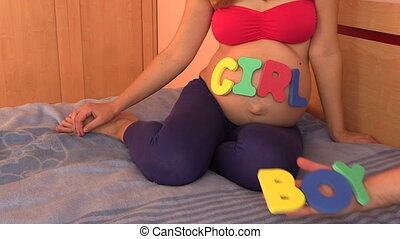 "baby gender question - ""It's a boy ! ..no, it's a girl !..."