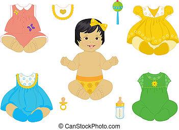 baby-girl, aziaat