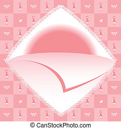 Baby girl born card