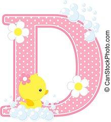 baby girl duck initial d