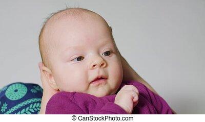 Baby Girl Finger Sucking Mouth
