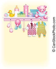 Baby girl garment