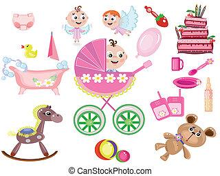 Baby girl ,icons
