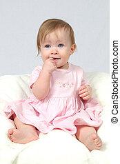 Baby Girl in Dress