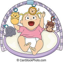 Baby Girl Musical Gym