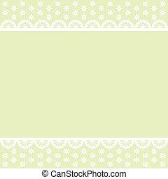 Baby green vector background