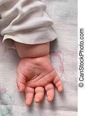 baby, håndflade