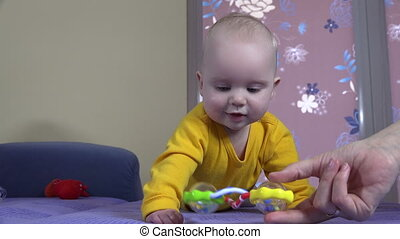 baby hand toy