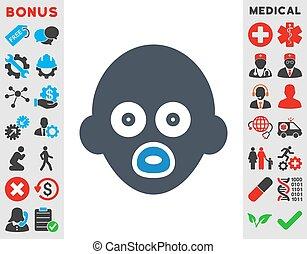 Baby Head Icon