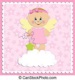 baby, hilsenerne, card