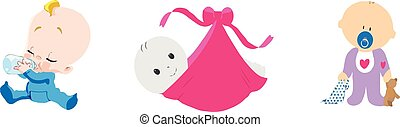 baby icon on white background