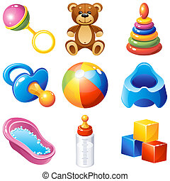 Baby icons - baby icons set