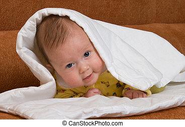 Baby in blanket
