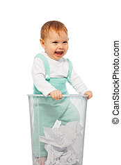 Baby in the bin
