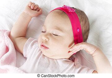 Baby in the dreams