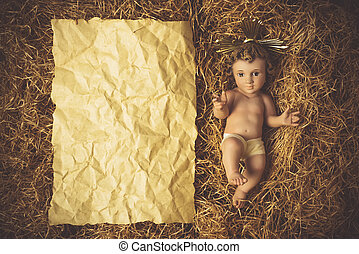 Baby Jesus Christmas cards.