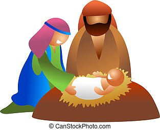 baby Jesus - nativity scene