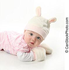 baby, kaninchen
