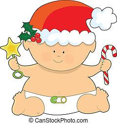 baby, kerstmis