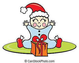 baby, kerstmistijd