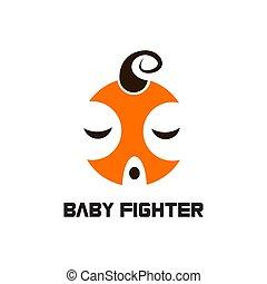 baby, logo, vector, vechter