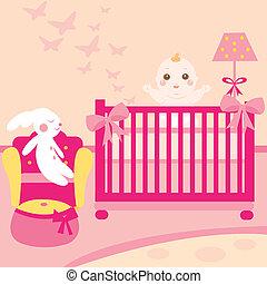 baby lovely room