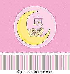 baby meisje, geboorte